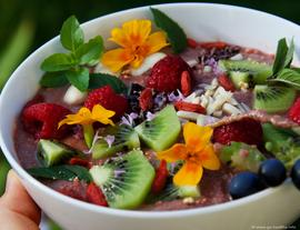 Beerenstarke Smoothie Bowl